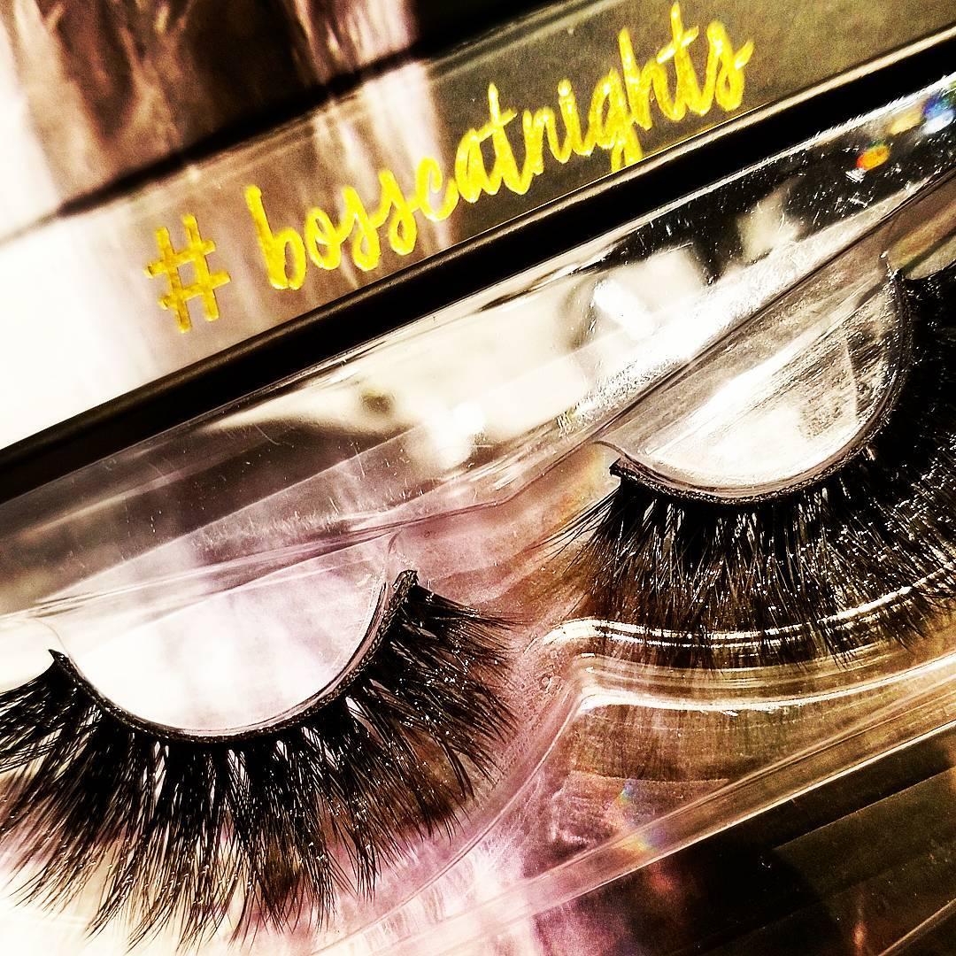 Bosscat fabulousness! lashes striplashes lash beautylover makeupaddict mua cosmetics crueltyfreebeautyhellip