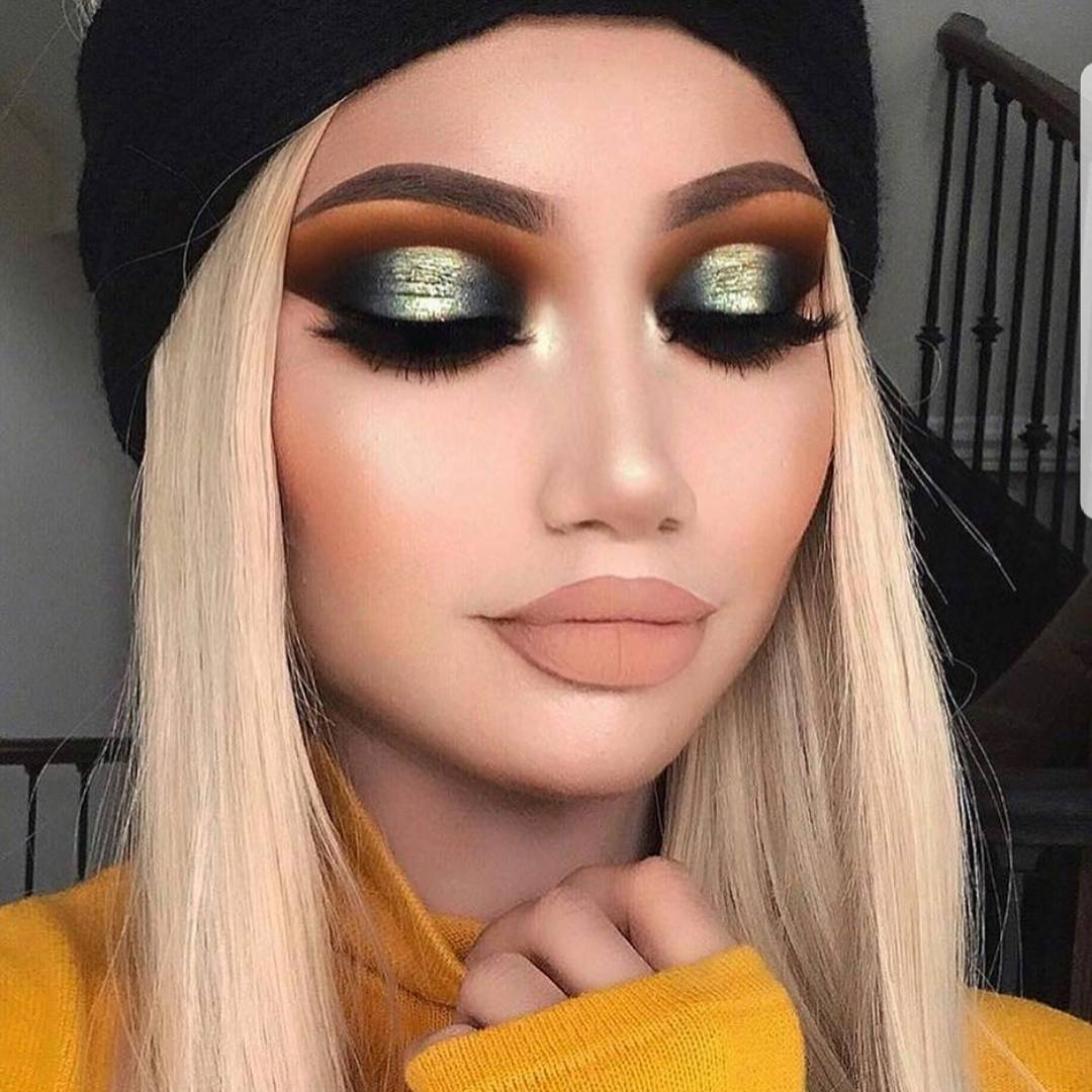 Flawlessly inspiring makeup by makeupbyalinna blendingismycardio mua makeuplover artist eyeshadowhellip